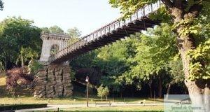 Reabilitarea Podului suspendat din parcul Nicolae Romanescu depaseste 1 milion de euro
