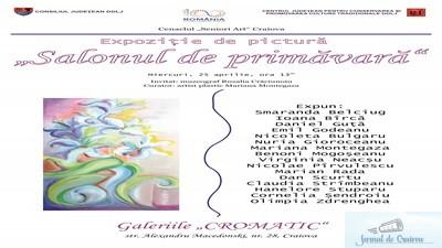 """Vernisaj - Expresie si culoare in """"Salonul de primavara"""", la Galeriile """"Cromatic"""""""