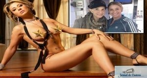 Anamaria Prodan a provocat un scandal imens in familie dupa ce a pozat goala(poze in articol).