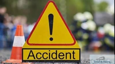 Accident in zona centrului comercial Selgros