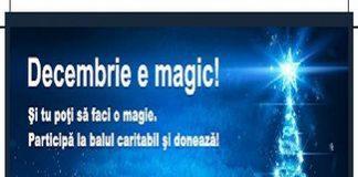 "Campania ""Decembrie e magic"" continua."