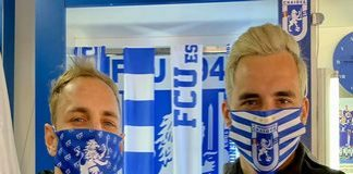 Fotbal : Universitatea Craiova a lansat pentru suporteri Masca personalizata reutilizabila