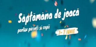 Săptămâna de joacă pentru părinți și copii – festival online pentru familie între 1 – 7 iunie