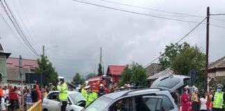 Accident grav in Dolj ! A fost nevoie de interventia elicopterului SMURD !