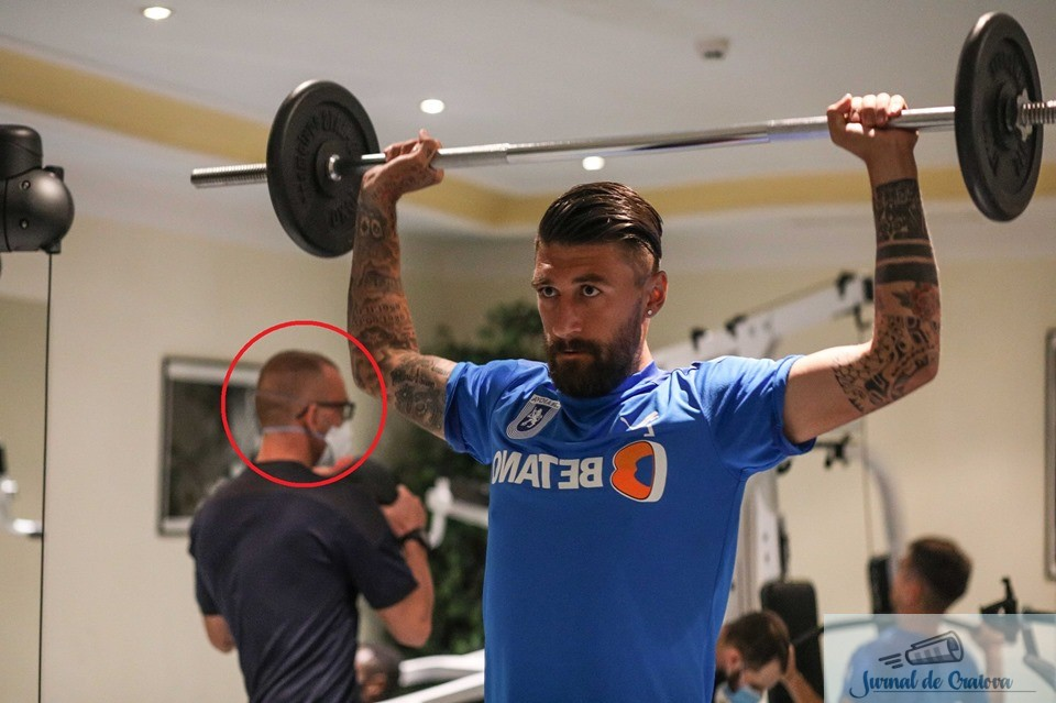 Fotbal : CSU Craiova a luat in cantonament si preparatorul fizic care are coronavirus ! 3