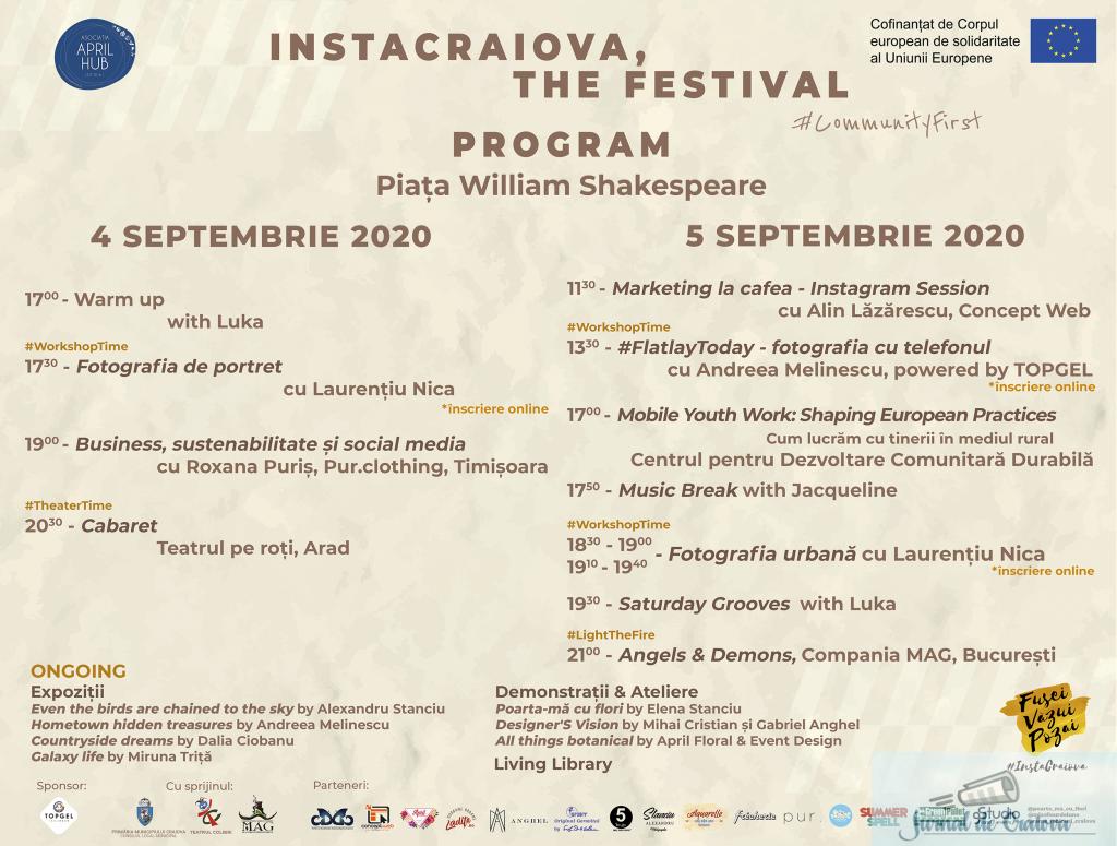 InstaCraiova, The Festival #CommunityFirst 1