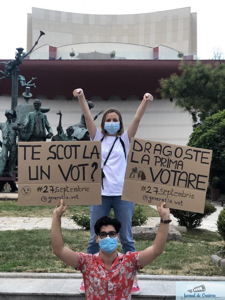 Tinerii vor să joace… Țară, țară, vrem votanți! Generația tânără a hotărât că nu vrea să se predea. 3