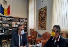 Nicolae Giugea s-a intalnit cu prefectul județului Dolj, Nicușor Roșca pentru a opri abuzurile PSD