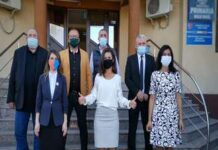 O parte din consilierii comunei Malu Mare au depus juramantul ..