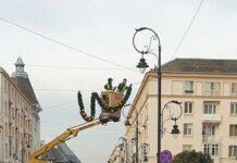De ce are nevoie Craiova ? De beculete si luminite ? Sursa foto : Liviu Mateescu