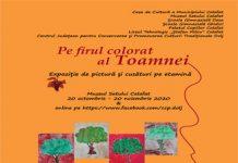 """""""Pe firul colorat al Toamnei"""", în expoziție la Calafat"""