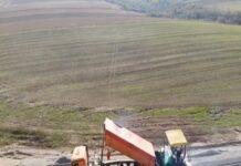 VIDEO Primele lucrari de asfaltare pe Drumul Expres Craiova-Pitesti a fost transmis live de catre Compania de Drumuri